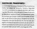 Logistica y costo de transporte